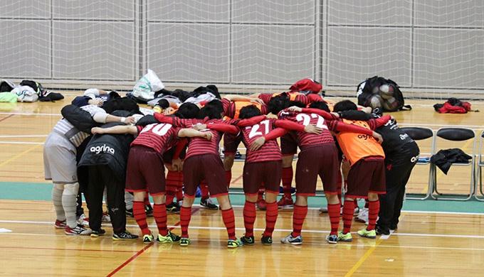 カリエンテが入れ替え戦に勝利し、埼玉県フットサル2部リーグに昇格