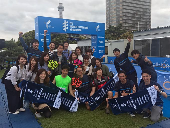 アグリナユニフォームで世界トライアスロンシリーズ 横浜大会のリレー部門で3位!