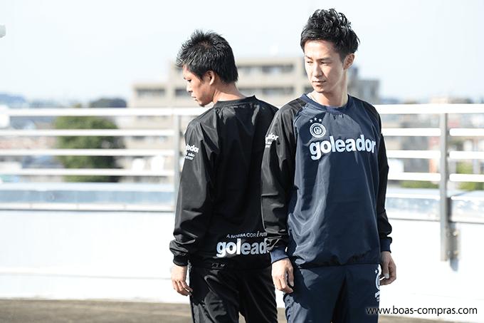 日本一 ゴレアドール商品の写真を撮影してるフットサルショップ