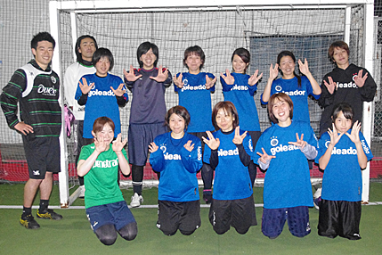 サポートチーム 東京都女子リーグ所属のフットサルチーム JONITAの紹介