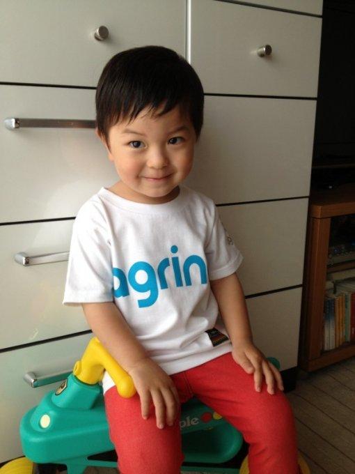 アグリナ ジュニアフットサルTシャツ お客様からの写真