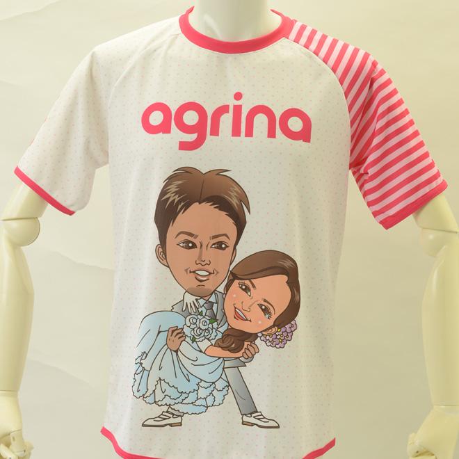 agrinaオリジナルウエディングプラシャツ