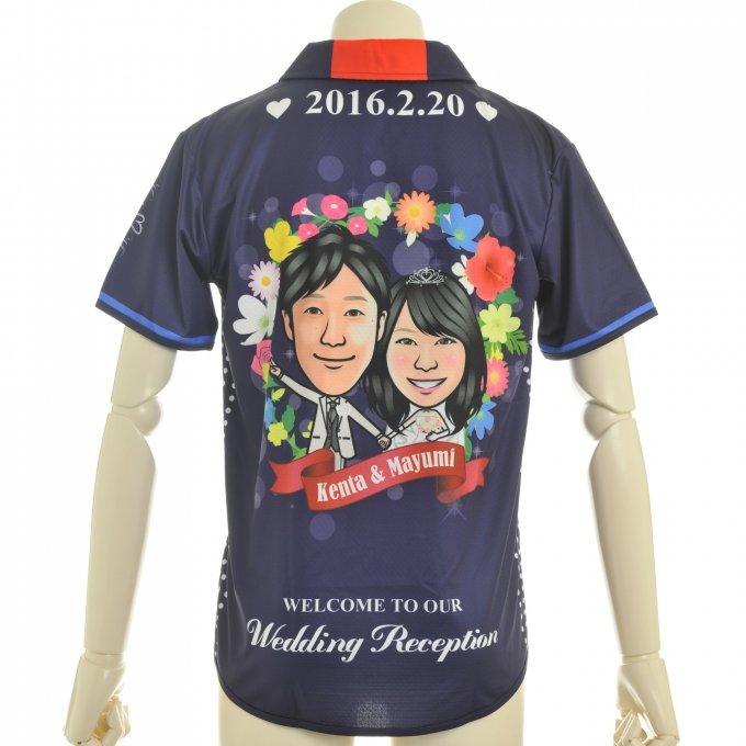 アグリナ 昇華ユニフォーム ウェディングプラシャツ