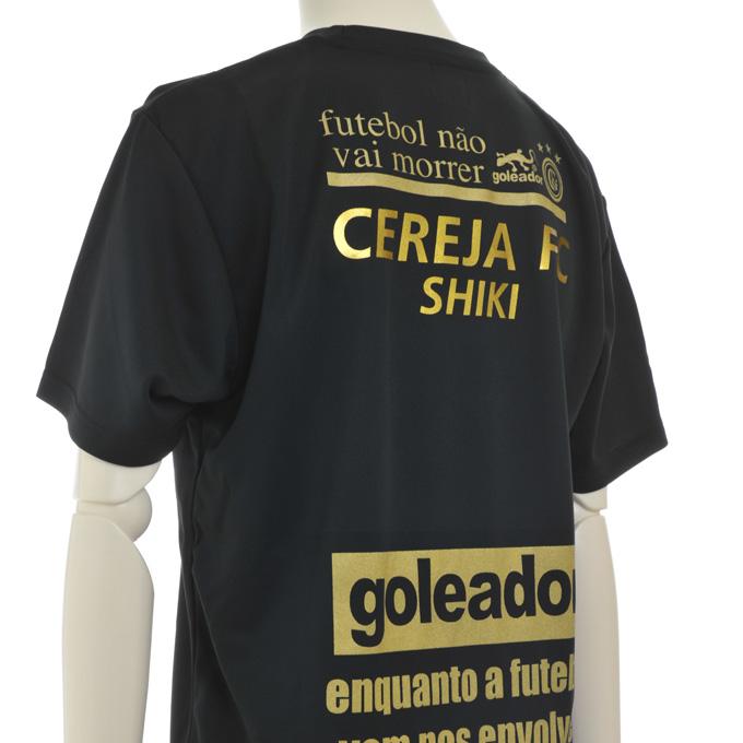 ゴレアドール ブラックプラシャツにゴールドマーキング