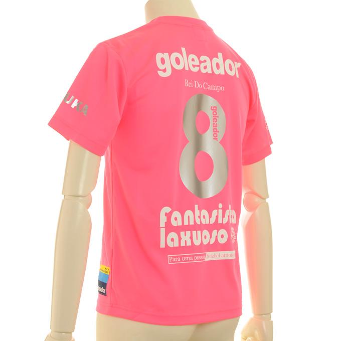ゴレアドール 2色のプラシャツにそれぞれ色違いのマーキング
