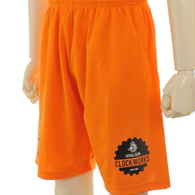 ゴレアドール 鮮やかなオレンジプラクティスパンツにマーキング