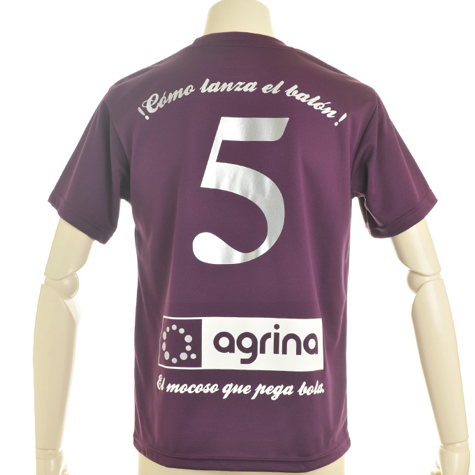 アグリナ 定番プラシャツにシルバーマーキング