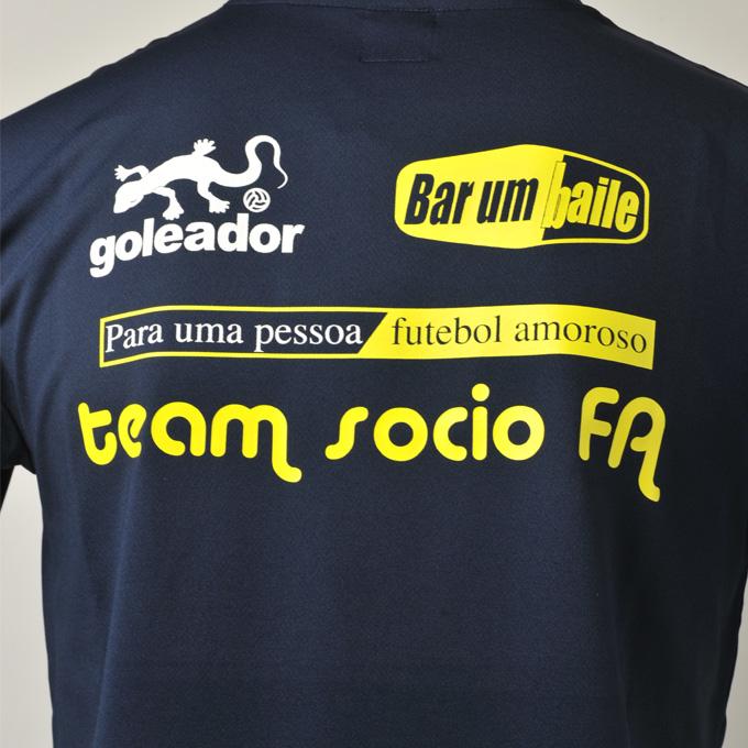 ゴレアドール白と黄色のマーキングのプラシャツ