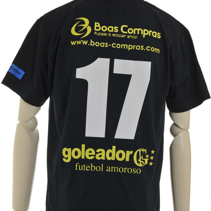 ゴレアドール 限定プラシャツに背番号マーキング