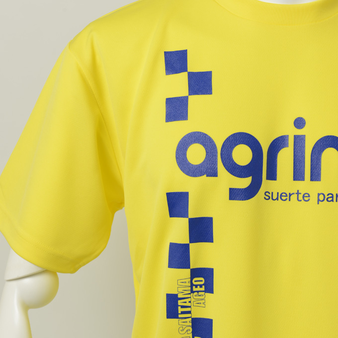 agrinaチームオーダー プラクティクシャツ