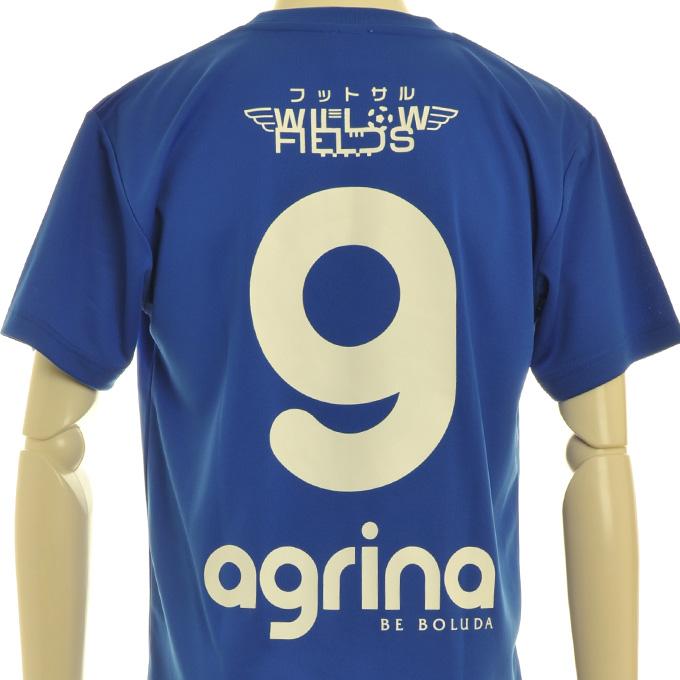 アグリナ オリジナルプラシャツで選手を応援!