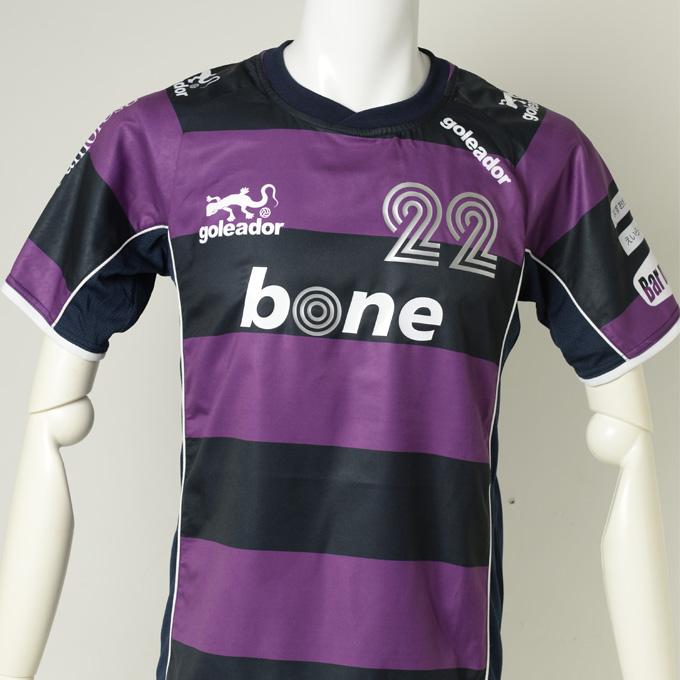 goleador紫のストライプ プラシャツ