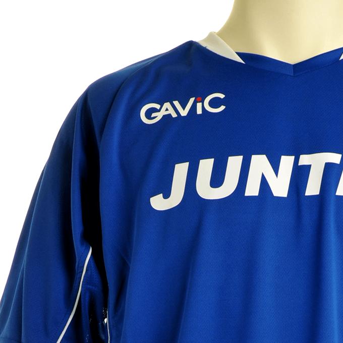 ガビック 鮮やかなブルーのプラシャツ