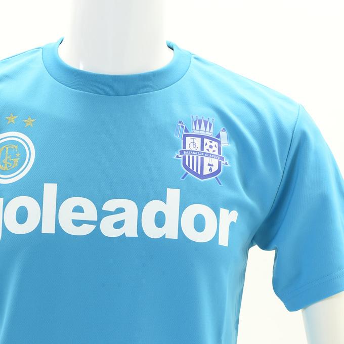 ゴレアドール一番人気のプラシャツに背番号のマーキング