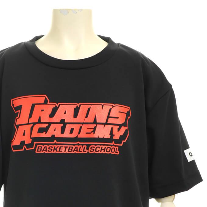 トレインズアカデミー 半袖 ブラック