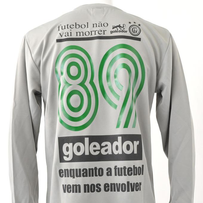 ゴレアドール 特徴的な緑の背番号 プラシャツ