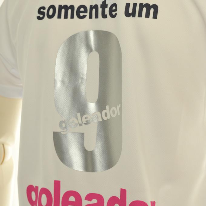 ゴレアドール ホワイトプラシャツにシルバー背番号