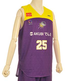 agrina(アグリナ)バスケユニフォームのかっこいいチームオーダー