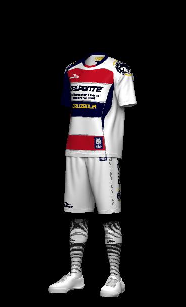 dalponte(ダウポンチ)プラクティスシャツ・チームユニフォーム 3Dシミュレーション画像