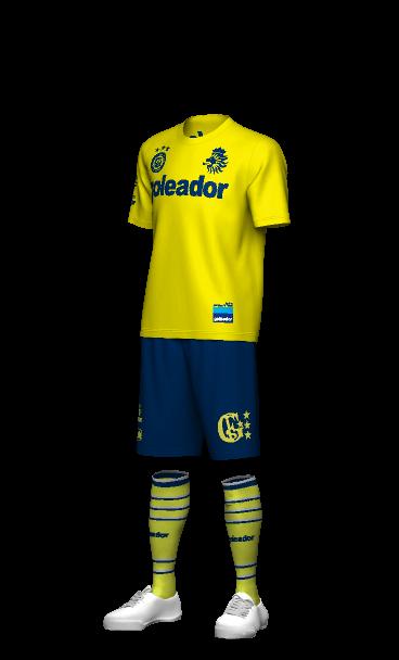 goleador(ゴレアドール)のおすすめチームウェア 3Dシミュレーション画像