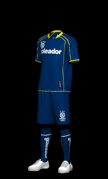 goleador(ゴレアドール)の激安チームオーダープラシャツ 3Dシミュレーション画像