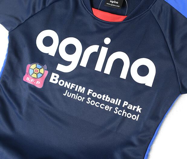ボンフィンジュニアサッカースクール 昇華ユニ写真