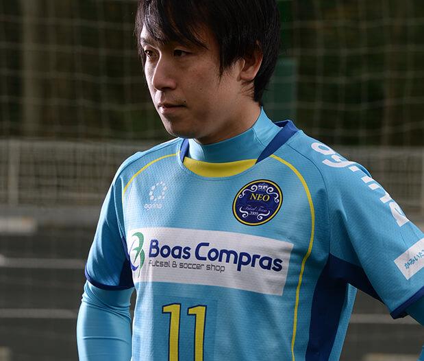 NEO 小坂雅和選手 昇華ユニ写真